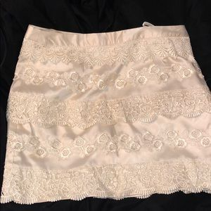 Dresses & Skirts - Cream skirt